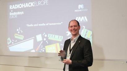 Ampegon wins Radio Hack Europe development prize!