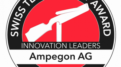 Ampegon nominated for prestigious technology prize in Switzerland