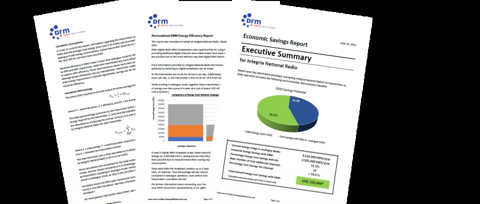 DRM Consortium Webinar: Efficiency Savings with DRM